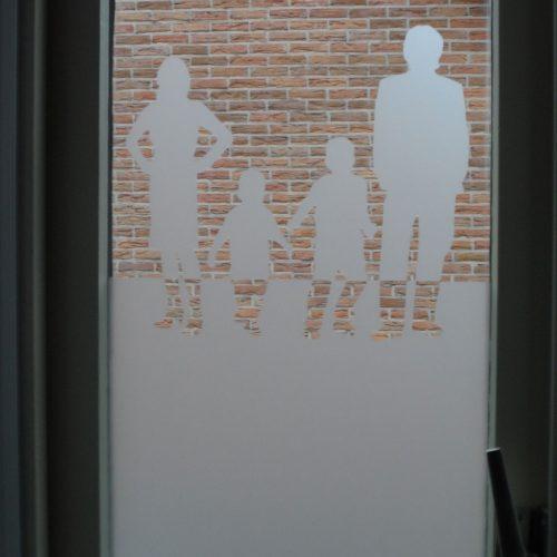 raamfolie familie