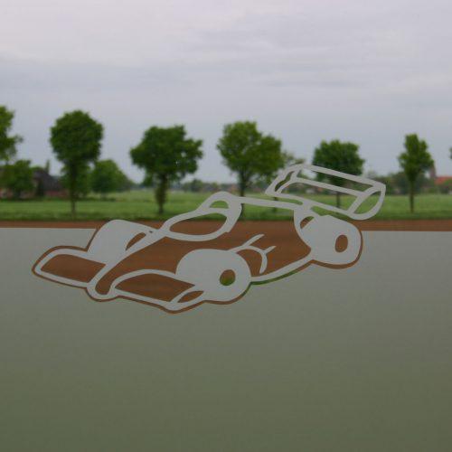 raamfolie racewagen