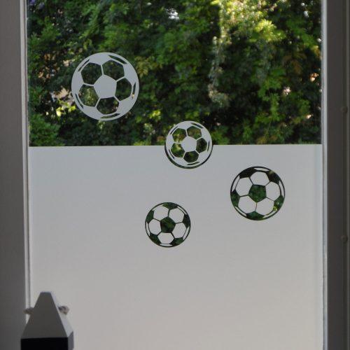 raamfolie voetbal
